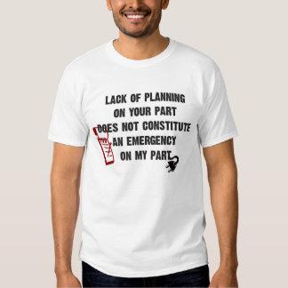 Famous Last Words T Shirt