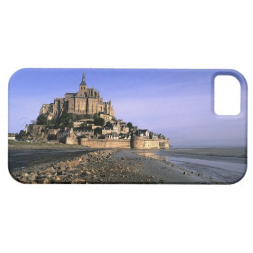 Famous Le Mont St. Michel Island Fortress in iPhone 5 Case