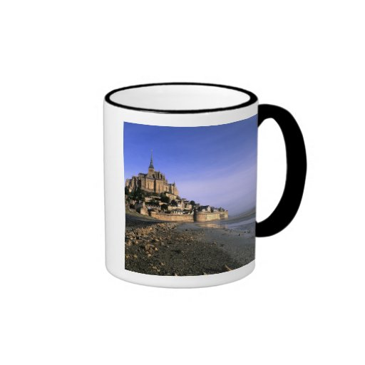 Famous Le Mont St. Michel Island Fortress in Mugs