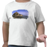 Famous Le Mont St. Michel Island Fortress in Tee Shirts