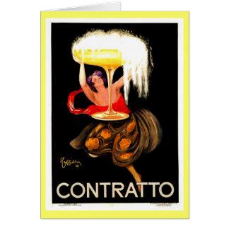 Famous Leonetto Cappiello Italian Champagne Card