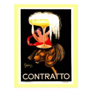 Famous Leonetto Cappiello Italian Champagne Postcard