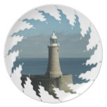 Famous Lighthouse Plate