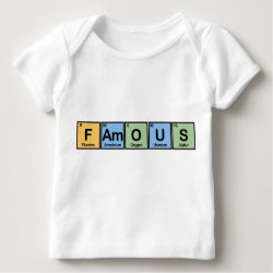 Baby Fine Jersey T-Shirt with Famous design