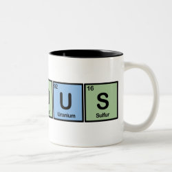 Two-Tone Mug with Famous design