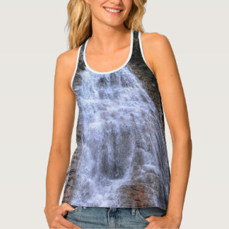 Famous Margaret Falls Scenic Nature Water Fall Tank Top