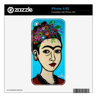 Famous Mexican Artist Decal For iPhone 4S