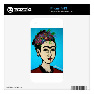 Famous Mexican Artist iPhone 4 Skin