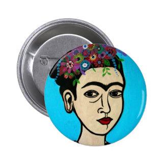 Famous Mexican Artist Pinback Button