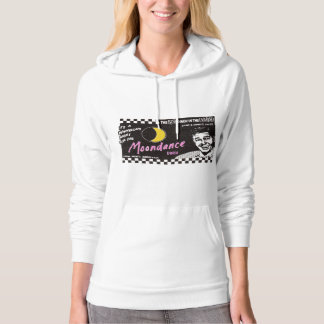 Famous Moondance Diner New York City Newspaper Ad Hooded Pullover