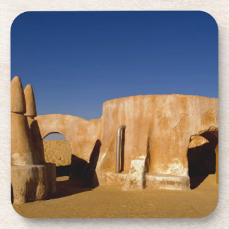 Famous movie set of Star Wars movies in Sahara Beverage Coaster