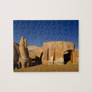 Famous movie set of Star Wars movies in Sahara Jigsaw Puzzle