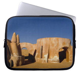 Famous movie set of Star Wars movies in Sahara Laptop Sleeves