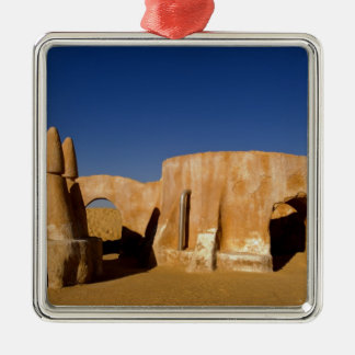 Famous movie set of Star Wars movies in Sahara Metal Ornament