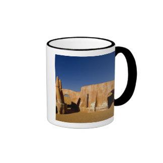 Famous movie set of Star Wars movies in Sahara Ringer Mug