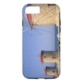 Famous old windmills of Rhodes Greece iPhone 7 Case