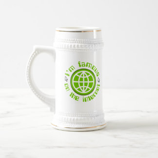 Famous On The Internet 18 Oz Beer Stein