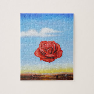 famous paint surrealist rose from spain jigsaw puzzle