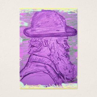 famous painter art business card