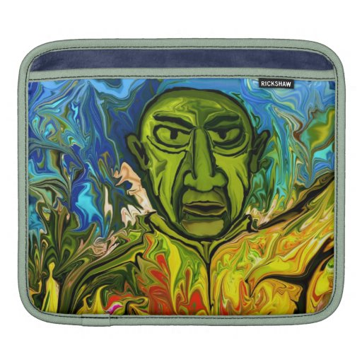 Famous painter by rafi talby sleeve for iPads