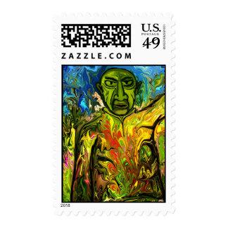 Famous painter postage