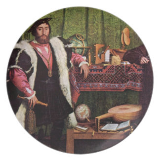Famous  Painting  Design Plate