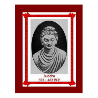 Famous people, Buddha 563-483BCE Postcard