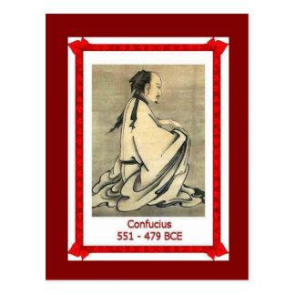 Famous people,Confucius, 551-479BC Postcard