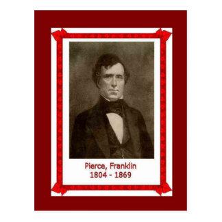 Famous people, Franklin Pierce 1804 - 1869 Postcard