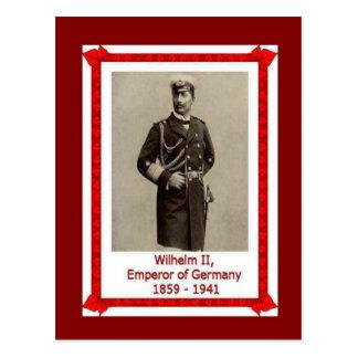 Famous people, Kaiser Wilhelm II 1859-1941 Postcard