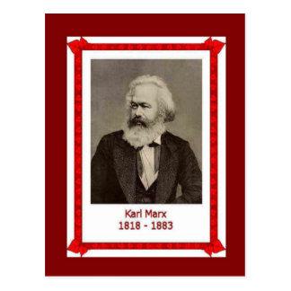 Famous people, Karl Marx, 1818-1883 Postcard