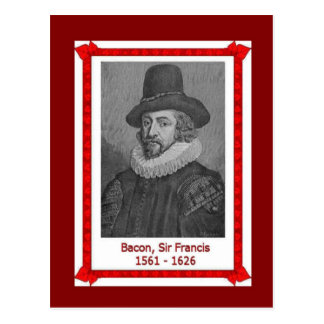 Famous people,Sir Francis Bacon, 1561-1626 Postcard
