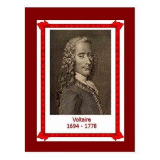 Famous people,Voltaire 1694-1778 Postcard