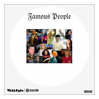 Famous People Wall Decal
