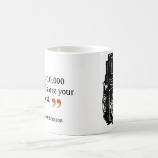 Famous Photographer's Quote 3 Double Lens Camera Coffee Mug