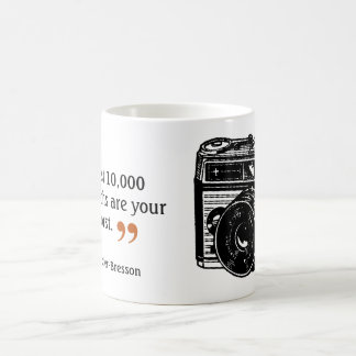Famous Photographer's Quote 3 Vintage Camera Image Coffee Mug