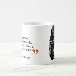 Famous Photographer's Quote 4 Double Lens Camera Coffee Mug