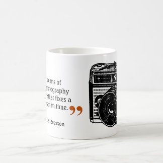 Famous Photographer's Quote 4 Vintage Camera Image Coffee Mug