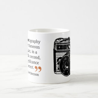 Famous Photographer's Quote 5 Vintage Camera Image Coffee Mug
