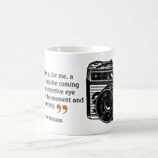 Famous Photographer's Quote 6 Vintage Camera Image Coffee Mug