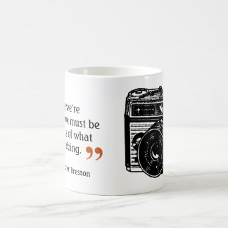 Famous Photographer's Quote 7 Vintage Camera Image Coffee Mug