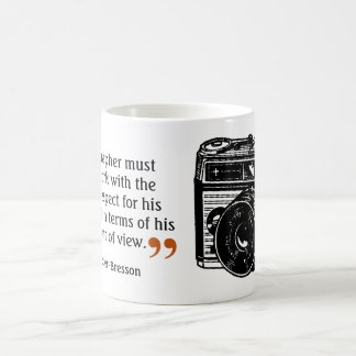 Famous Photographer's Quote 8 Vintage Camera Image Coffee Mug