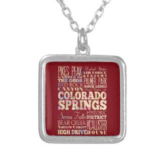 Famous Places of Colorado Springs, Colorado. Jewelry