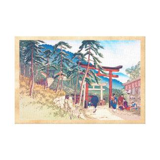 Famous Places of Kyoto - Fushimi Inari scenery Canvas Print