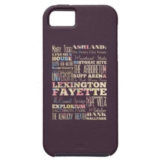 Famous Places of Lexington Fayette, Kentucky. iPhone SE/5/5s Case