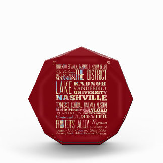 Famous Places of Nashville, Tennessee. Award