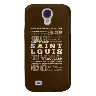 Famous Places of Saint Louis, Missouri. Samsung Galaxy S4 Cases