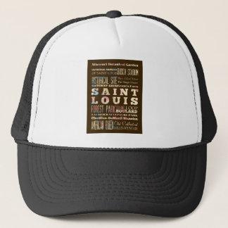 Famous Places of Saint Louis, Missouri. Trucker Hat