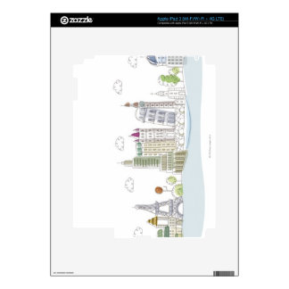 Famous Places of the World iPad 3 Skin
