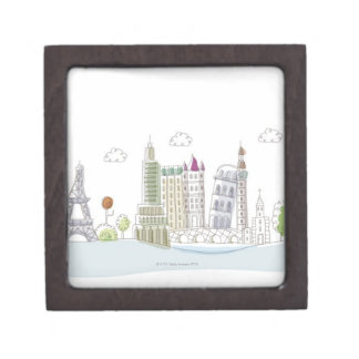 Famous Places of the World Premium Jewelry Boxes